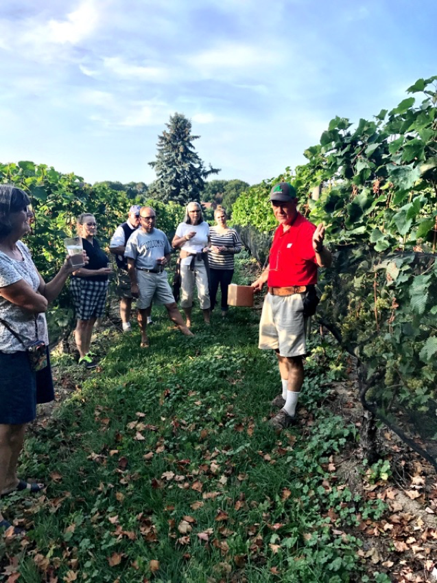 Bowers Harbor Vineyards Staff Brix Tour