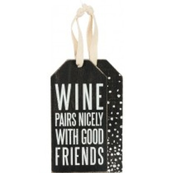 Bottle Tag Wine Pairs Nicely