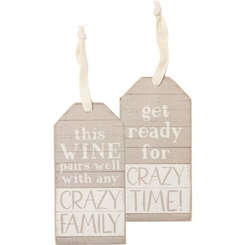 Bottle Tag Crazy Family