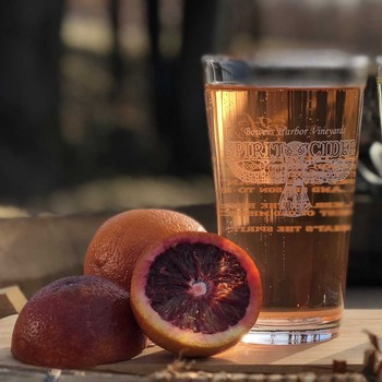 Blood Orange Apple Cider 750mL