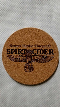 Cork Spirit Cider Coaster