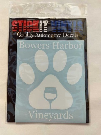 Decal Paw Print