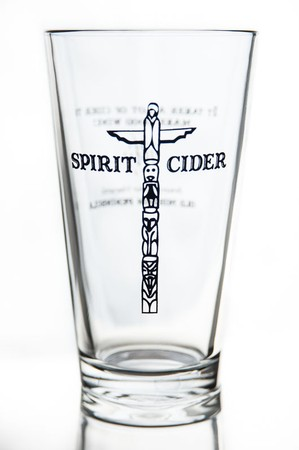 Cider Pint Glass with Logo