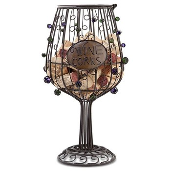 Cork Cage Wine Glass Image