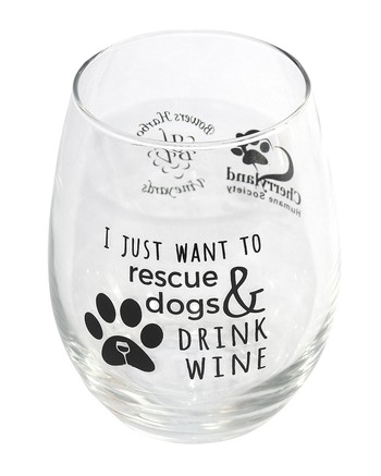 Glass Stemless CHS Rescue