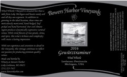 2016 Gewurztraminer Wind Whistle